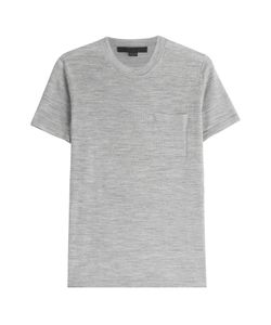 Alexander Wang | Merino Wool And Silk T-Shirt Gr. S