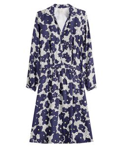 Paul & Joe | Printed Dress With Silk Gr. 36