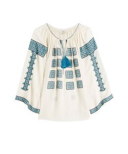 TALITHA | Embroidered Tunic Blouse Gr. 8