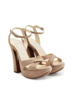 L' Autre Chose | Suede Platform Sandals Gr. 36