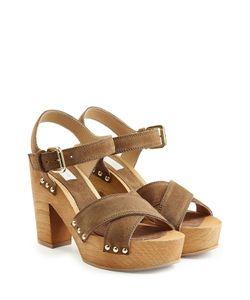 L' Autre Chose | Suede Platform Sandals Gr. 38