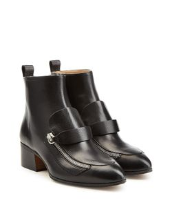 Chloe | Leather Ankle Boots Gr. 36