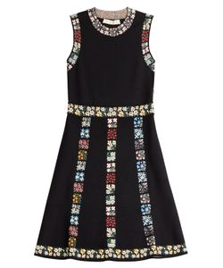 Valentino | Embroidered Stretch Dress Gr. S