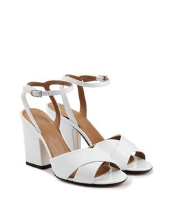 Sonia Rykiel | Patent Leather Block Heel Sandals Gr. 36