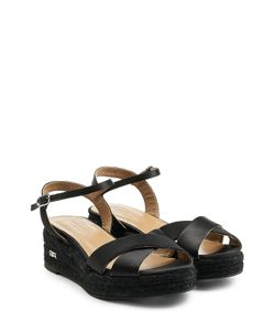 Sonia Rykiel | Satin Sandals With Raffia Gr. 36