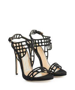 Dsquared2 | Suede Stiletto Sandals Gr. 38
