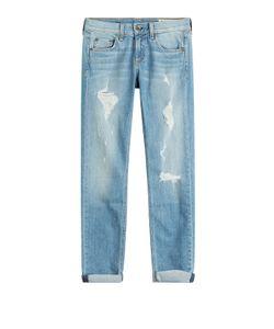 Rag & Bone | Cropped Distressed Jeans Gr. 32