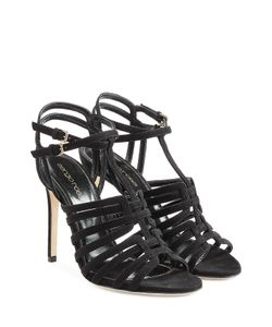 Sergio Rossi | Suede Stiletto Sandals Gr. 36