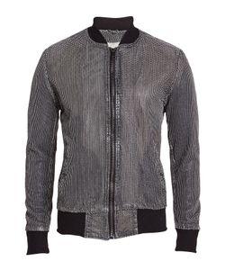 Giorgio Brato | Perforated Leather Bomber Gr. Eu 50
