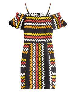 MSGM | Zigzag Print Mini-Dress Gr. 40