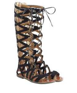 Sam Edelman | Suede Lace-Up Sandals Gr. 36