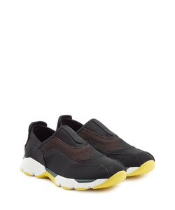 Marni | Fabric Slip-On Sneakers Gr. 40
