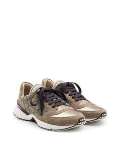 Brunello Cucinelli | Leather And Suede Sneakers Gr. It 36