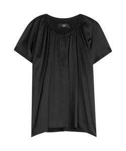 Steffen Schraut | Draped Silk T-Shirt Gr. De 34