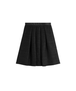 Burberry London | Pleated Silk Skirt Gr. Uk 8