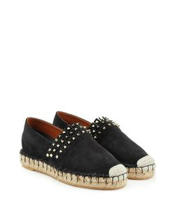 Valentino | Suede Espadrilles With Rockstuds Gr. It 36