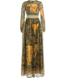 Valentino | Cotton Floor-Length Printed Dress Gr. It 38