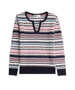 Claudia Schiffer for TSE | Cashmere-Cotton Pullover Gr. S
