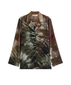 Valentino   Silk Tie-Dye Shirt Gr. S