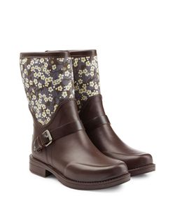 UGG Australia | Rubber Sivada Boots With Printed Shaft Gr. Us 8