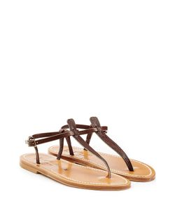 K. Jacques   Leather Sandals Gr. It 36