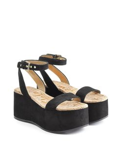 Sam Edelman | Suede Platform Sandals Gr. Eu 36