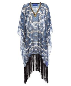 Elena Makri | Printed Fringe Tunic Gr. One Size