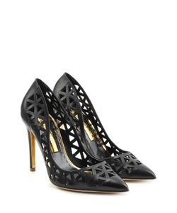 Rupert Sanderson | Cut-Out Leather Pumps Gr. It 36