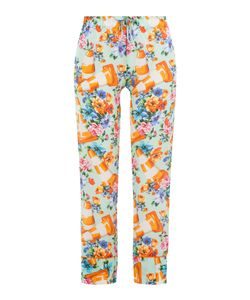 Moschino | Printed Cotton-Silk Pants Gr. It 40