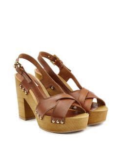 L' Autre Chose | Leather Platform Sandals Gr. It 38
