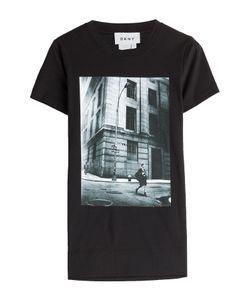 DKNY | Printed Cotton T-Shirt Gr. M