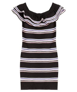 MSGM | Striped Cotton Dress Gr. S