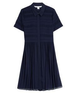 Diane Von Furstenberg | Pleated Shirt Dress Gr. Us 8