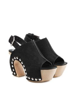 Alexander McQueen | Suede Clog Sandals Gr. It 38