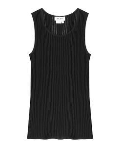 DKNY | Sleeveless Ribbed Knit Top Gr. M