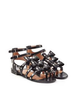 Laurence Dacade | Embellished Leather Sandals With Bows Gr. It 36