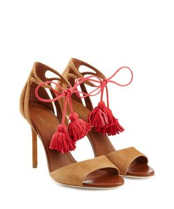 MALONE SOULIERS | Ida Suede Sandals With Tassels Gr. It 36
