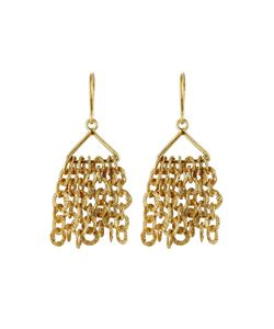 PIPPA SMALL | Gold Plated Silver Earrings Gr. One Size