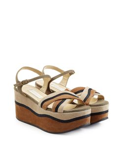 L' Autre Chose | Suede Platform Sandals Gr. It 36