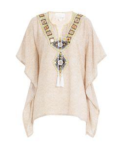 Gooshwa   Embellished Cotton Caftan Gr. S