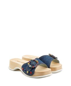 Marc Jacobs | Embellished Denim Sandals Gr. It 36
