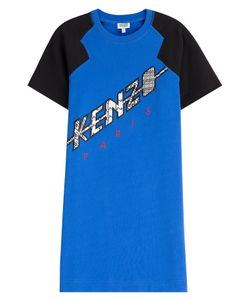 Kenzo | Embroidered Cotton Dress Gr. S
