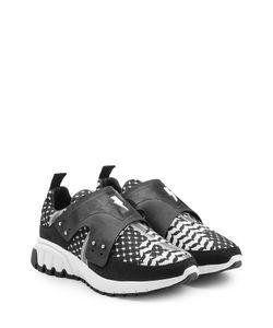 Neil Barrett | Printed Leather Sneakers Gr. Eu 40