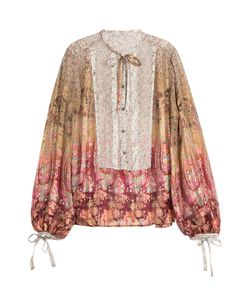 Etro | Natalia Printed Silk Blouse Gr. It 40