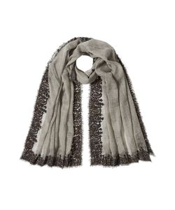 Faliero Sarti | Printed Scarf With Wool Gr. One Size