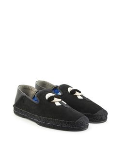 Fendi | Karlito Espadrilles With Suede And Leather Gr. Uk 8
