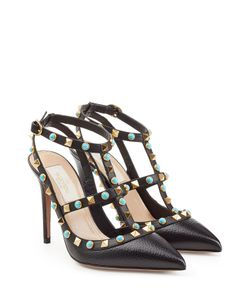 Valentino | Rockstud Rolling Leather Pumps Gr. It 36