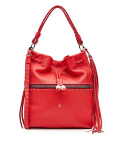 Henry Beguelin | Leather Bucket Bag Gr. One