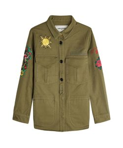 Zadig & Voltaire | Embroide Cotton Military Shirt Gr. M