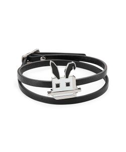 Mcq Alexander Mcqueen | Embellished Leather Bracelet Gr. One Size